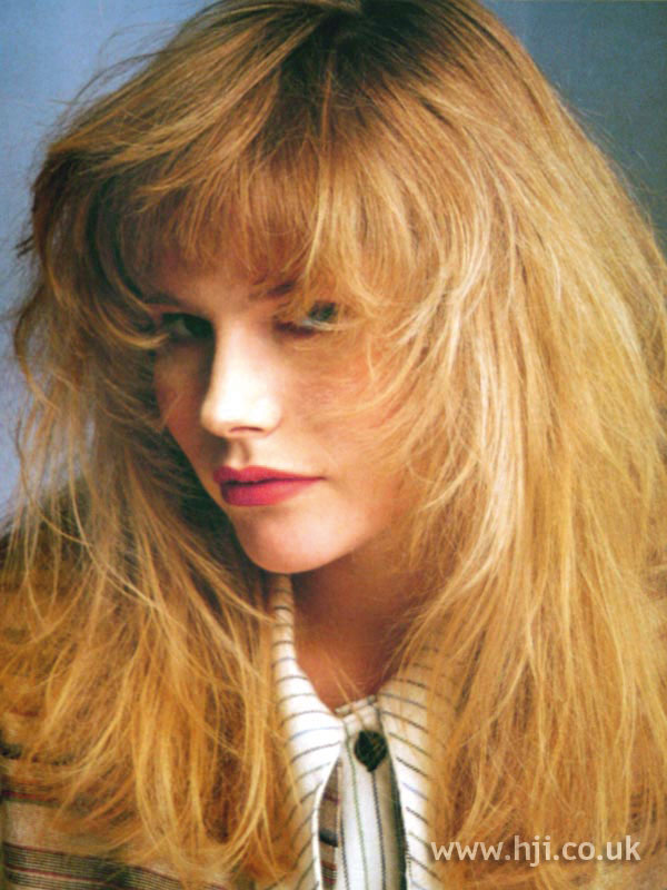 1987 soft textured hairstyle