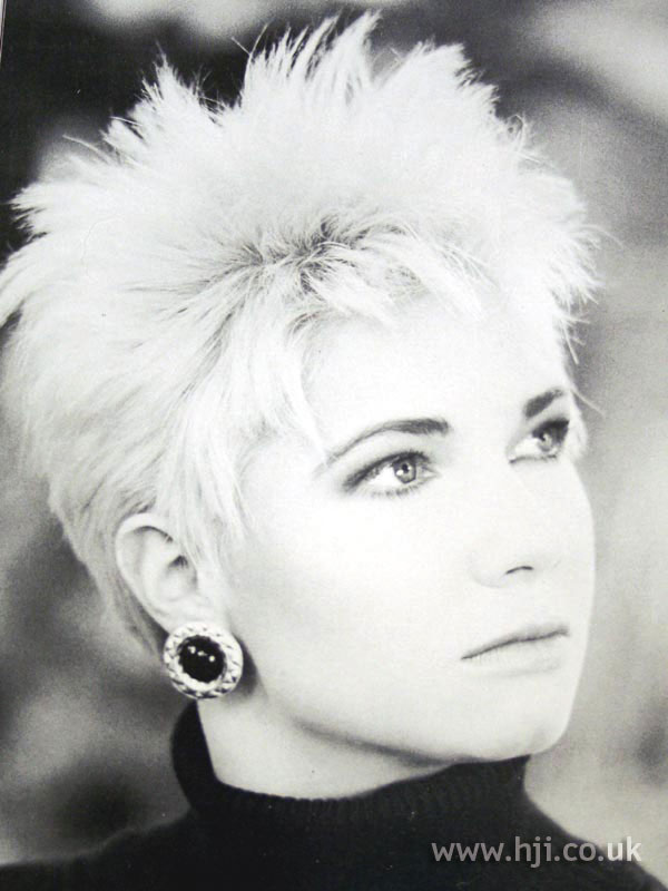 1987 spiked blonde