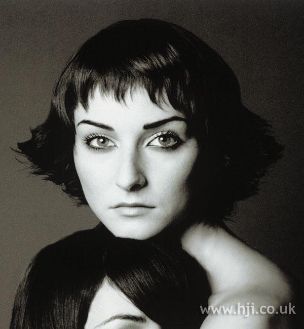 1998 short bob hairstyle with fringe