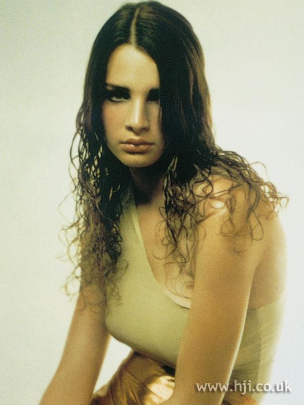 2001 brunette curls