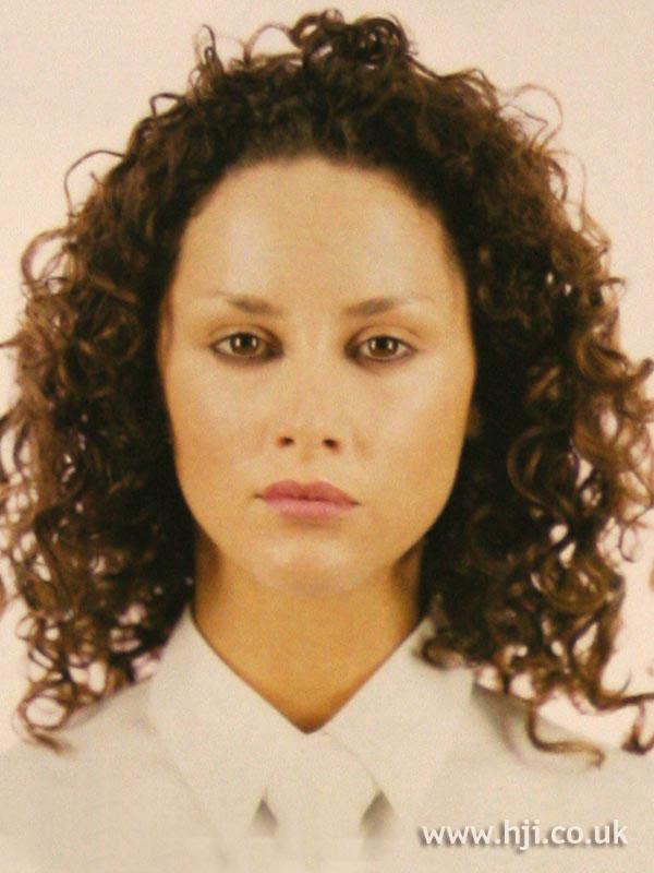 2002 brunette curls