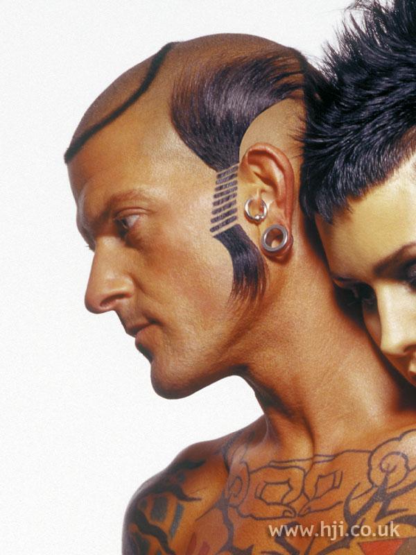 2002 creative sideburn