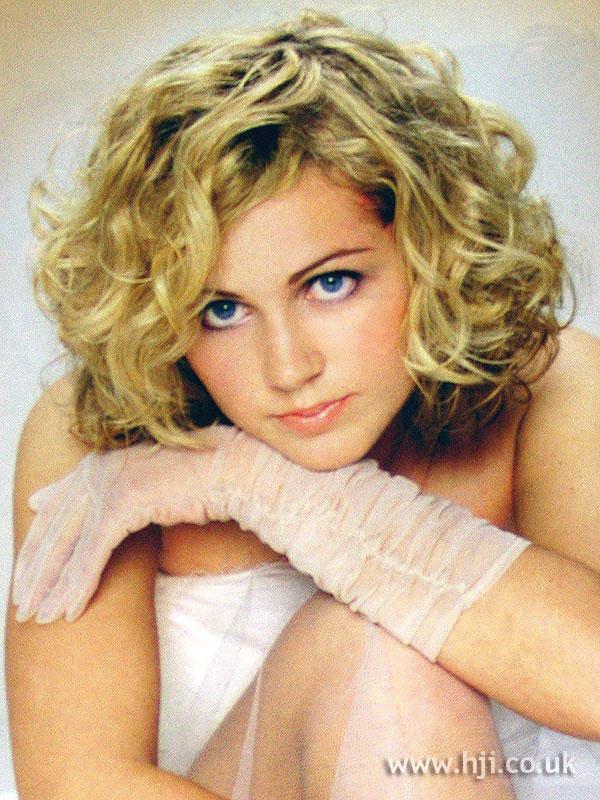 2002 curls blonde