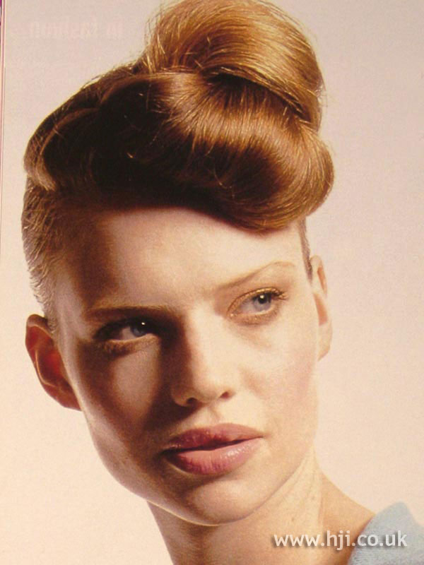 2002 redhead updo