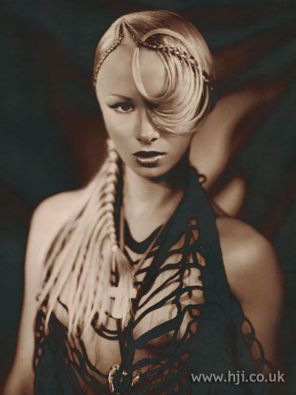 2003 blonde glossy