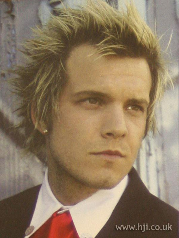 2003 blonde spikes