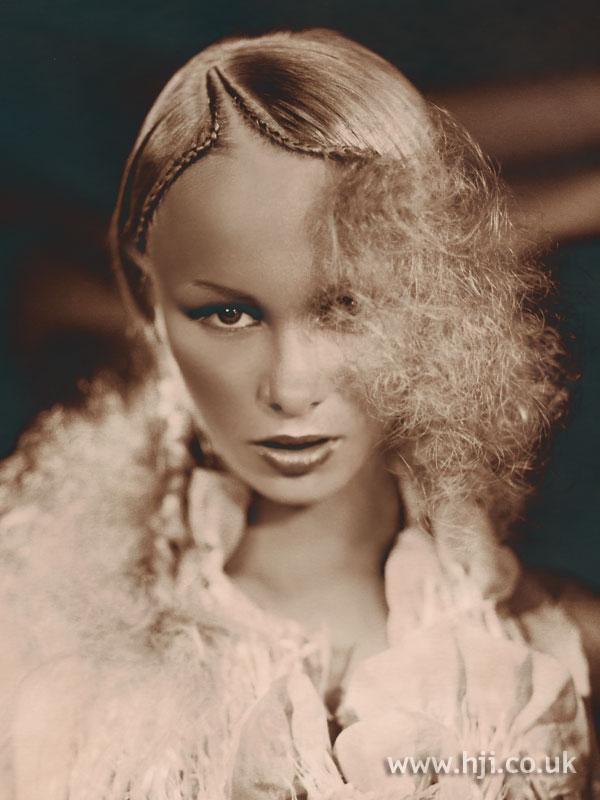 2003 quiff curls