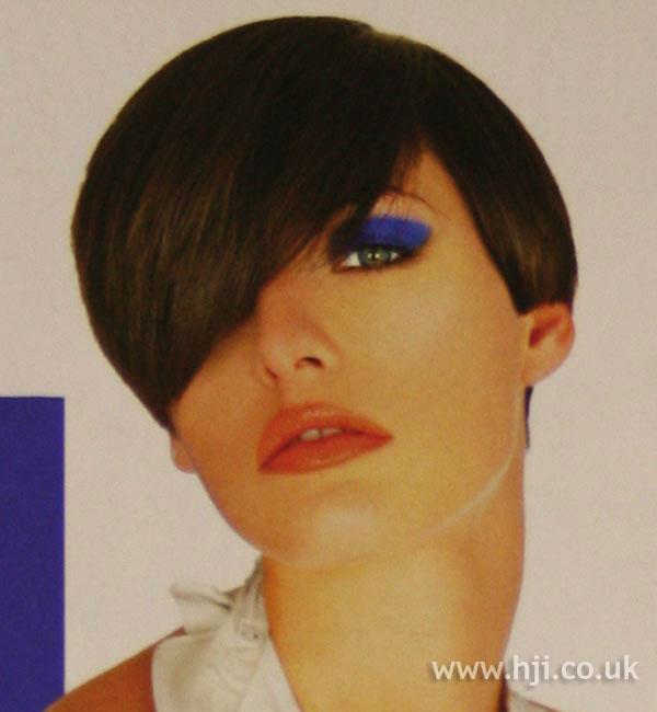 2003 short brunette
