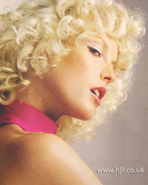 2004 blonde curls