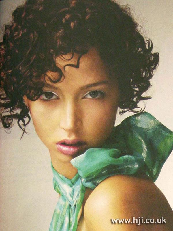 2004 brunette curls