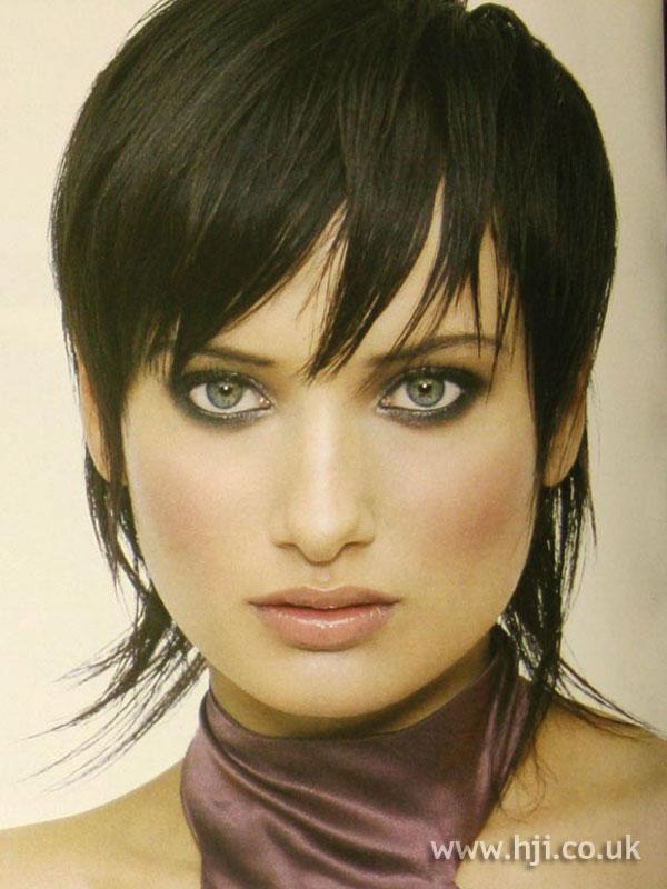2004 choppy brunette