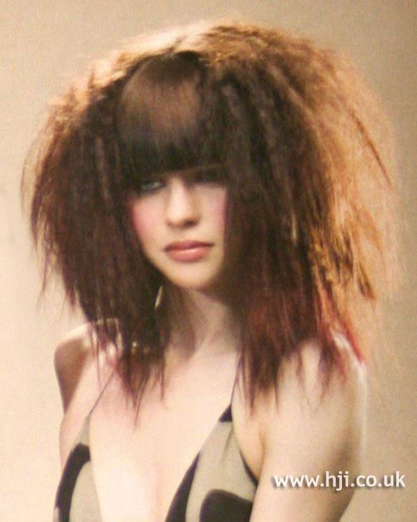 2004 crimped brunette