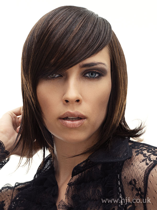 2005 asymmetric brunette
