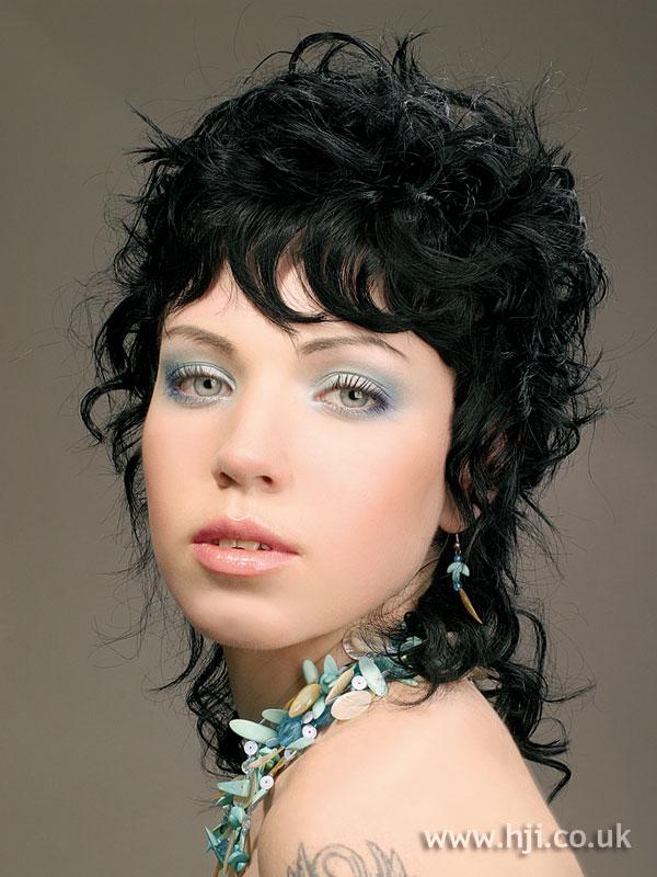 2005 black curls
