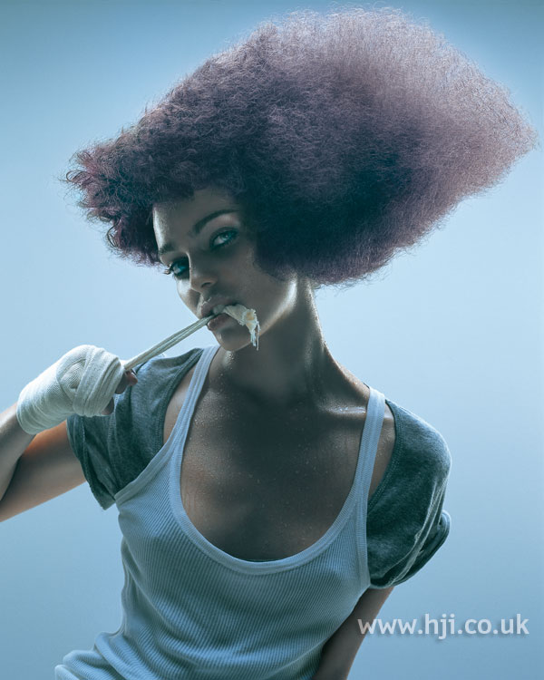 2006 avant garde afro hairstyle