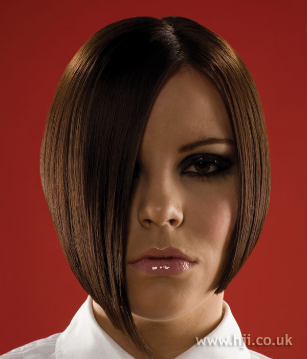2006 brunette bob hairstyle