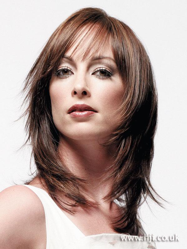 2006 brunette layered