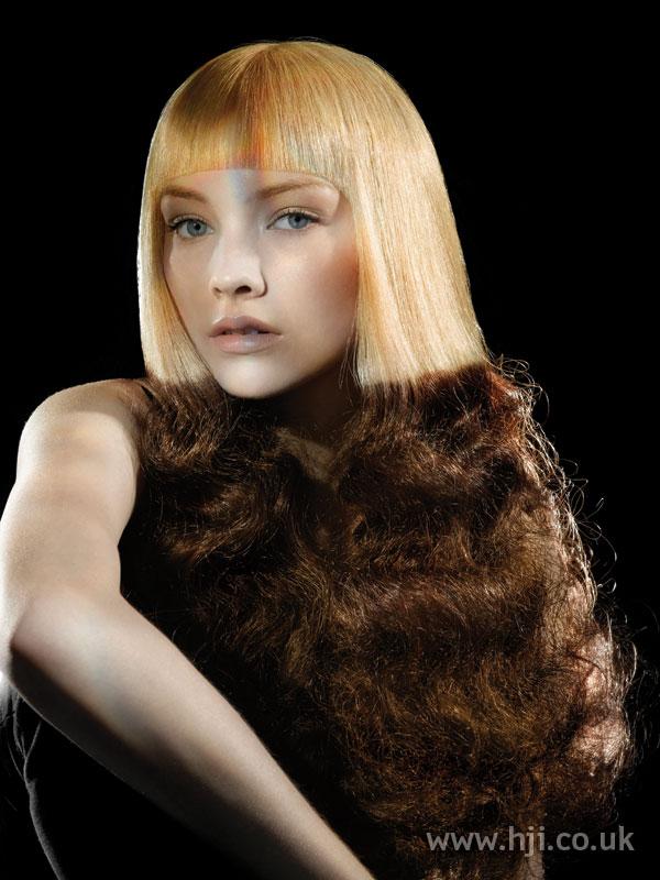 2006 creative texture hairstyle