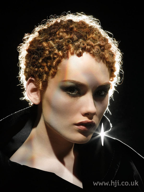 2006 short tight curly hairstyle