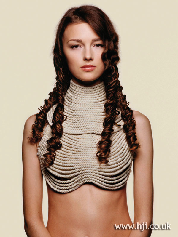 2006 long braided hairstyle