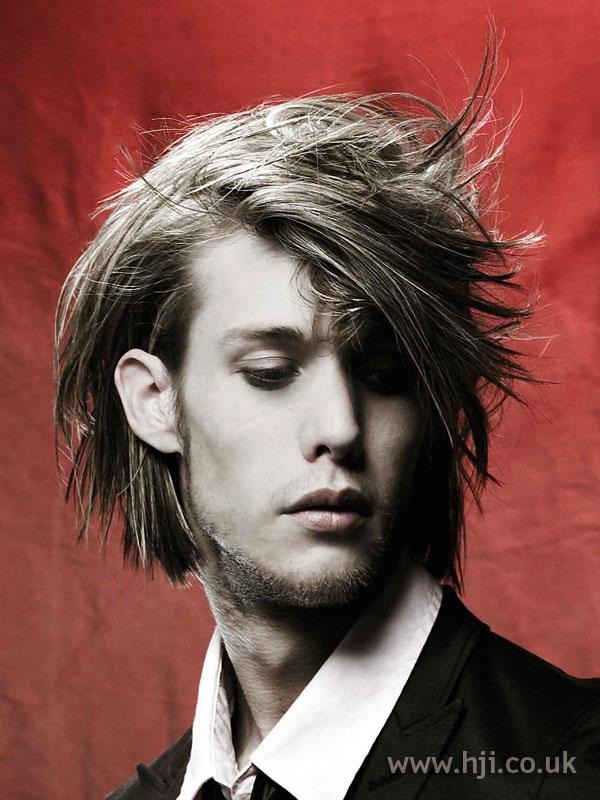 2006 men's side fringe hairstyle