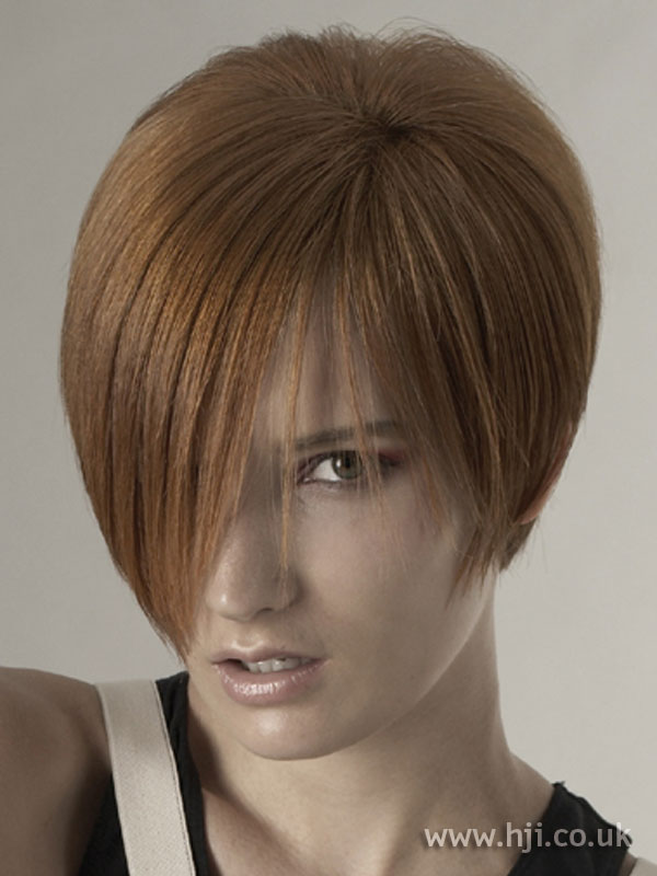2006 red bob hairstyle