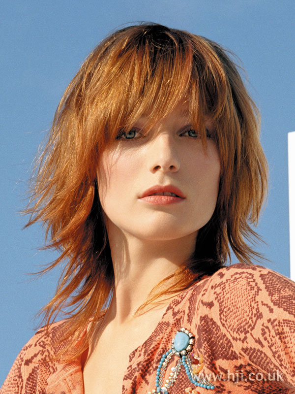 2006 redhead textured