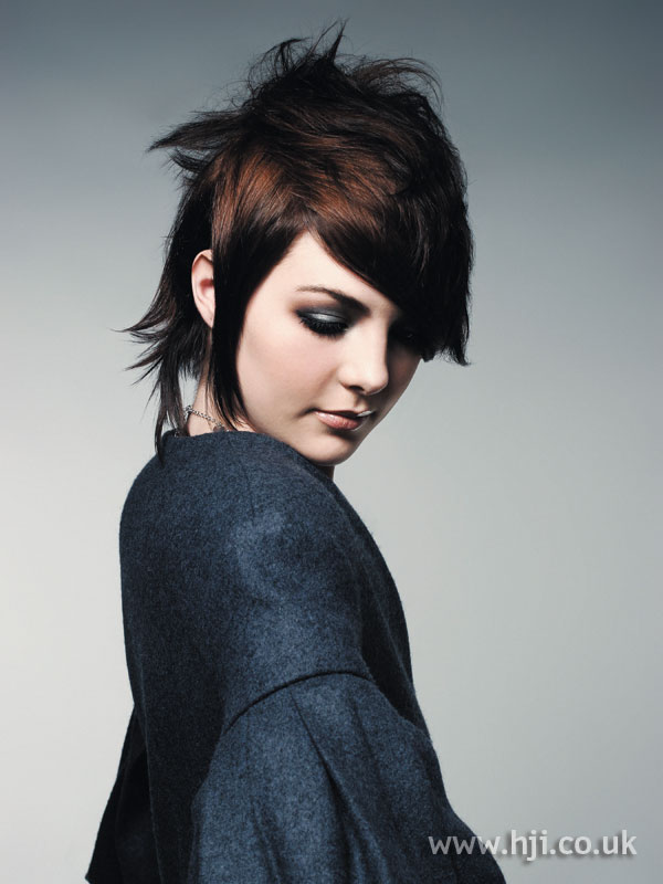 2006 short brunette hairstyle