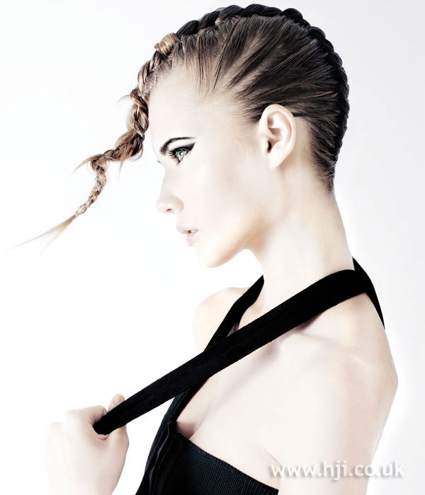 2006 short plaits hairstyle