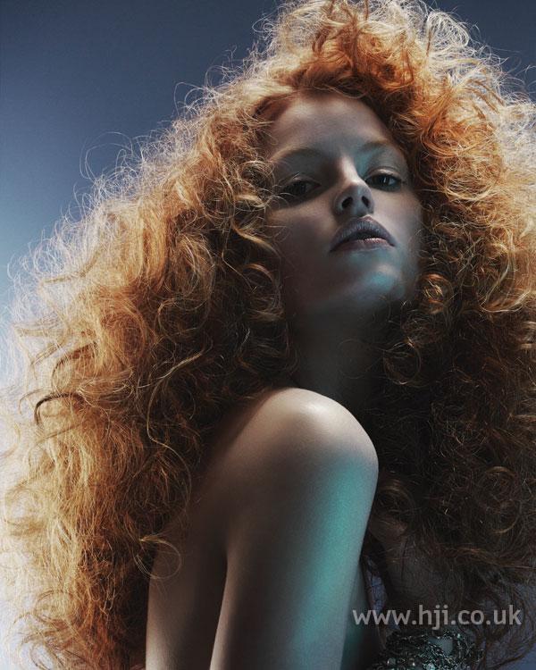 2006 voluminous red curls