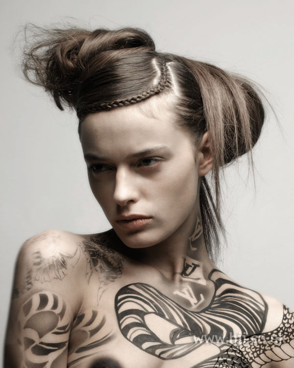 2007 abstract updo