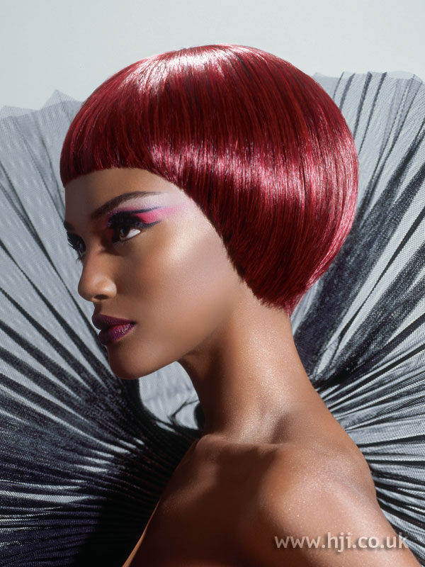 2007 afro redhead