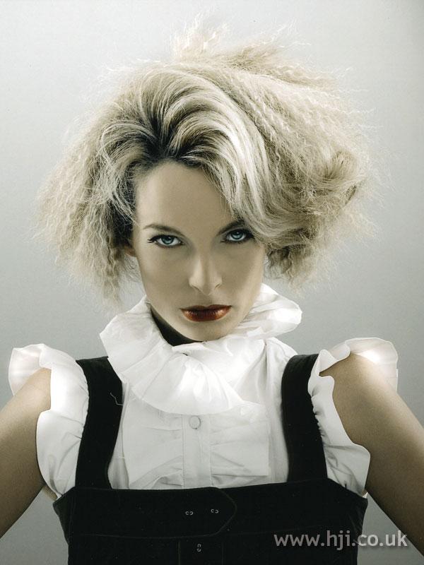 2007 blonde crimped