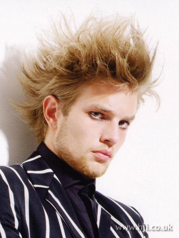 2007 blonde spikes