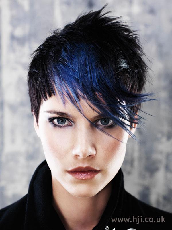 2007 blue fringe