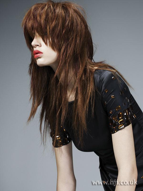 2007 brunette layered