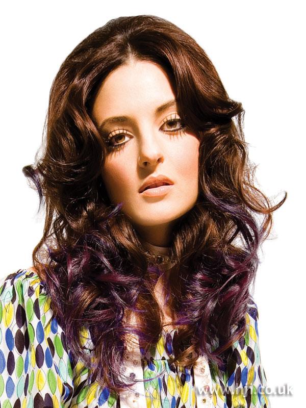 2007 brunette purple