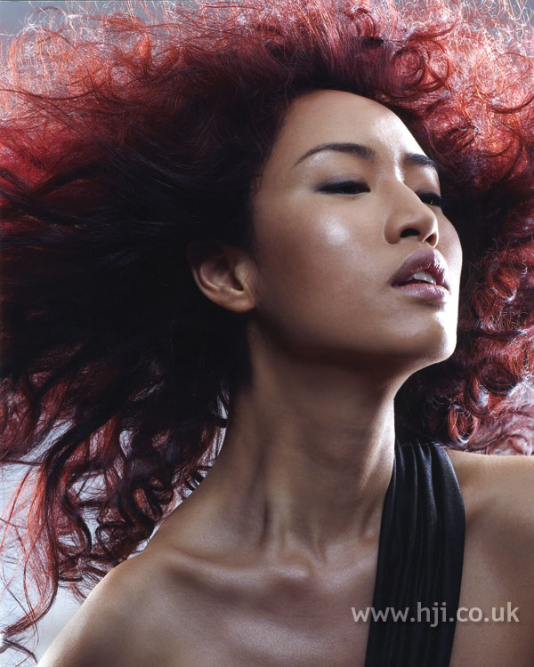 2007 dark redhead