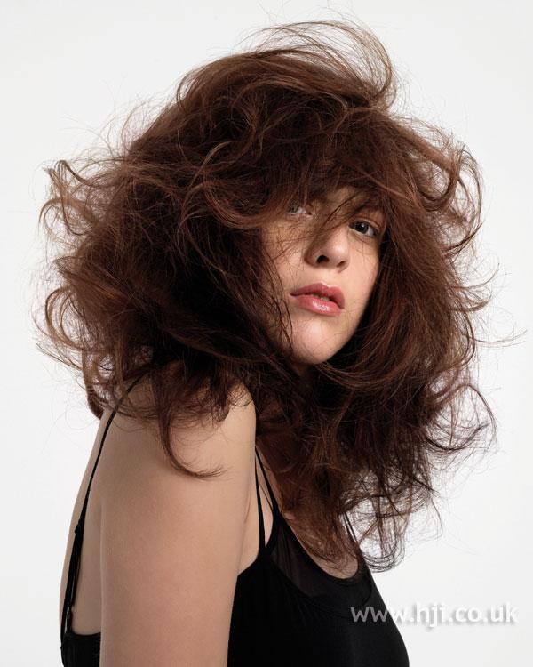 2007 messy brunette