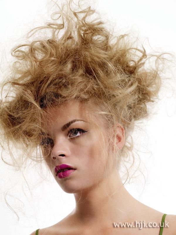 2007 messy curls