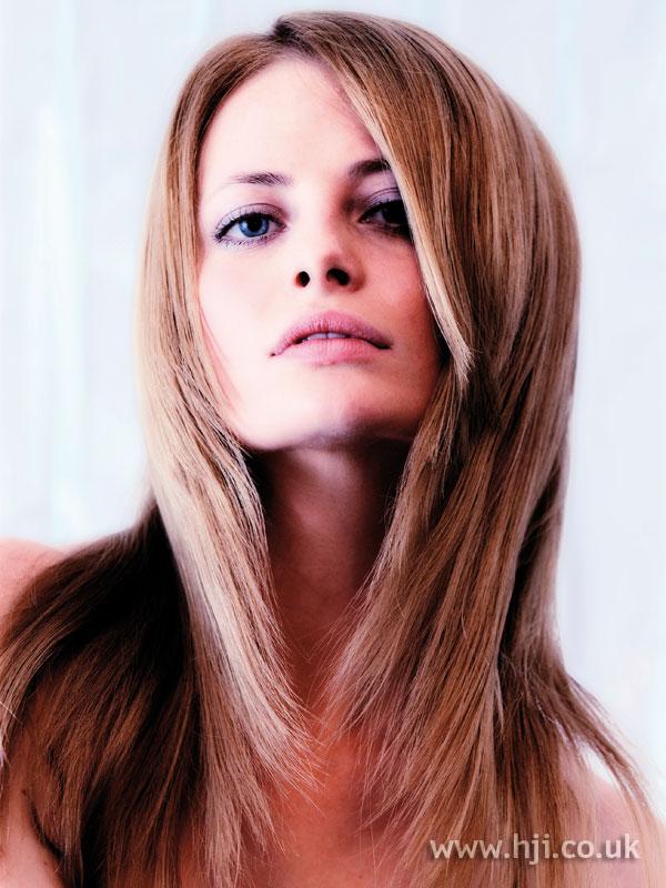2007 straight hair