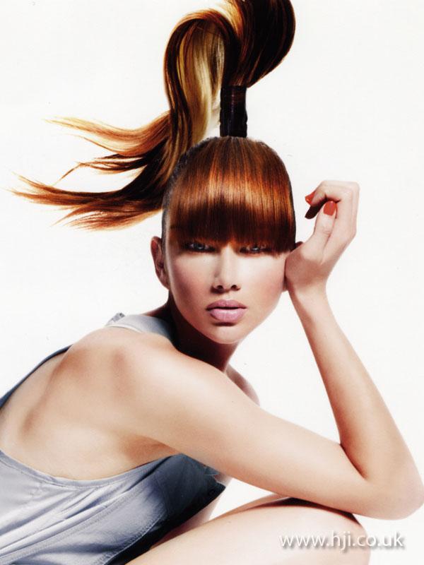 2007 top ponytail