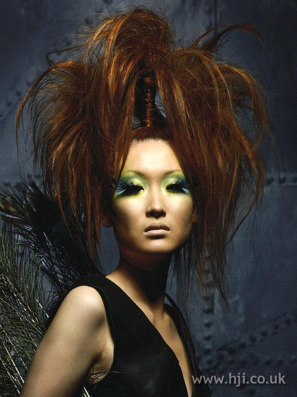2007 vertical ponytail