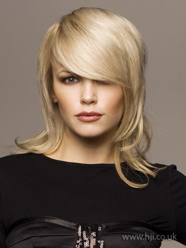 2008 blonde asymmetric
