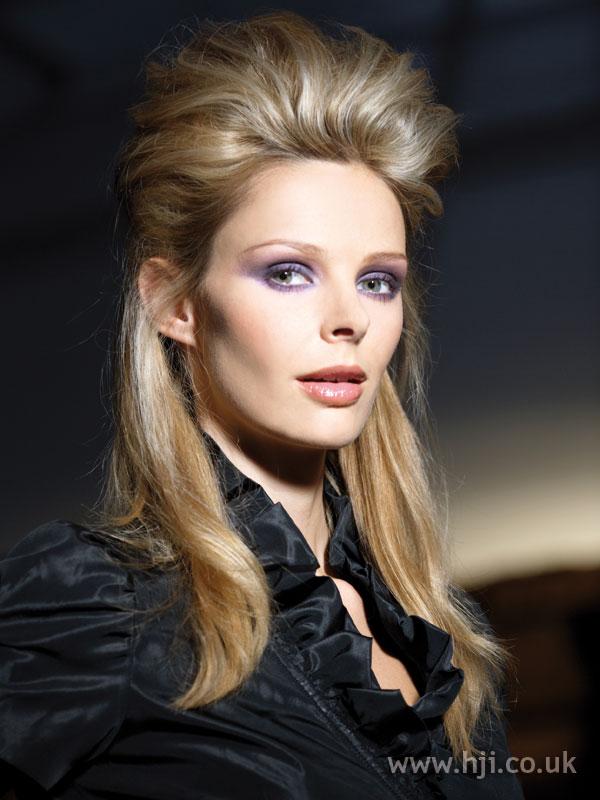 2008 blonde quiff
