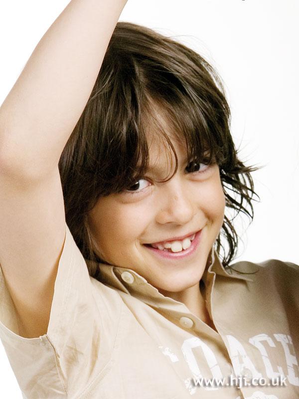 2008 boy brunette