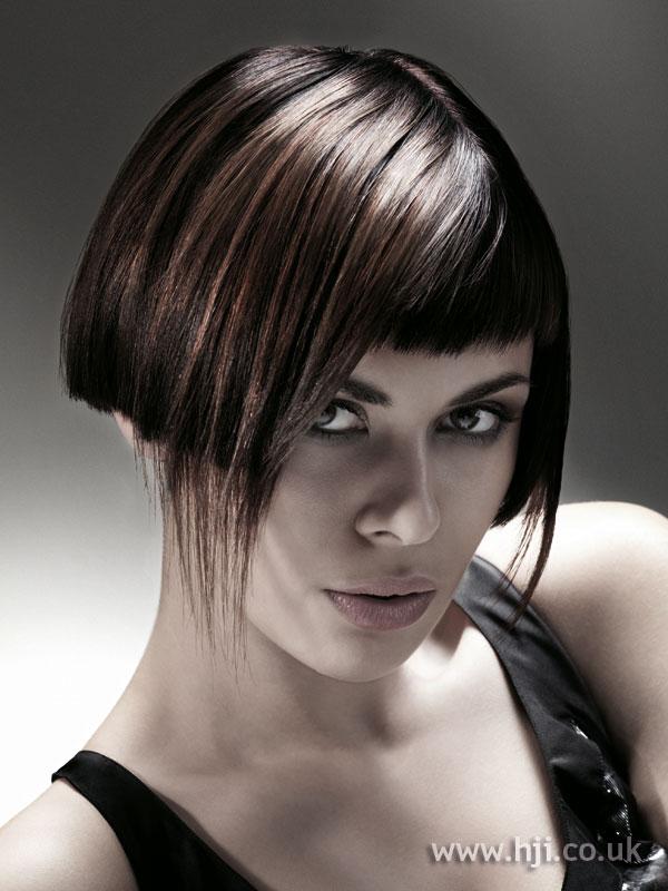 2008 brunette angular