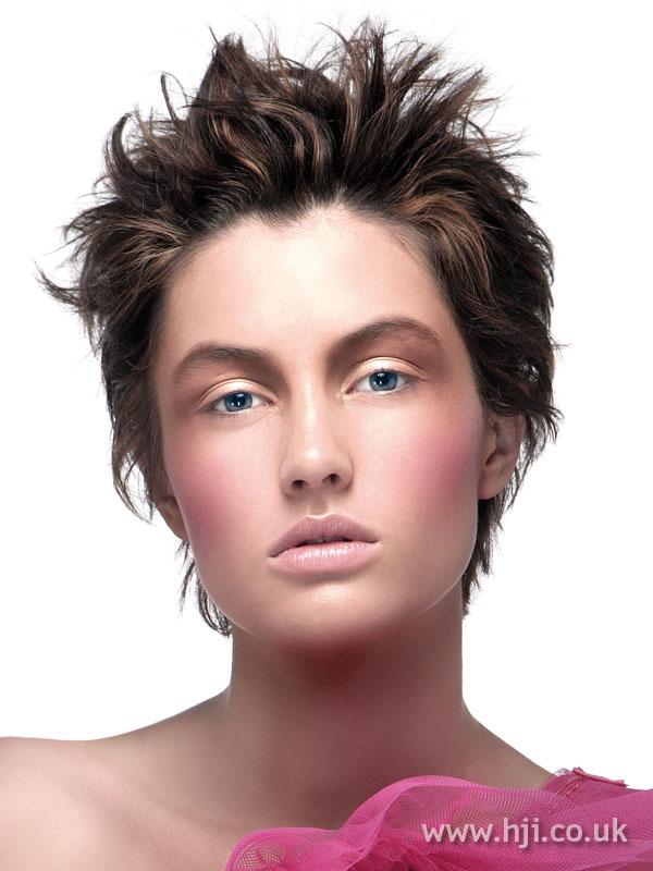 2008 brunette cropped