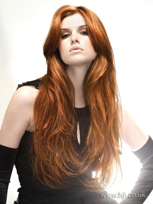 2008 flowing redhead