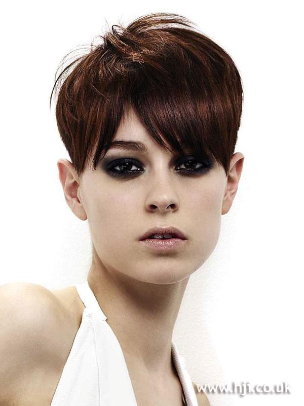 2008 short brunette